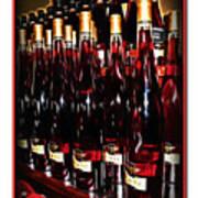 Miner Pink Sparkling Wine Poster