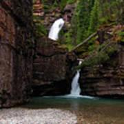 Mineral Creek Falls Poster