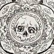 Skull Mandala Poster
