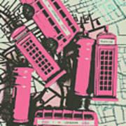 Miniature London Town Poster