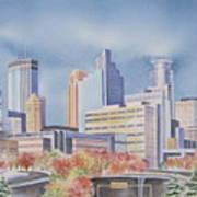 Minneapolis Skyline Poster