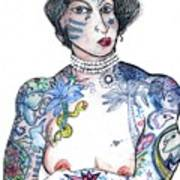 Minnie - An Homage To Maud Wagner, Tattoos  Poster