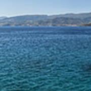 Mirabello Bay Panorama Poster