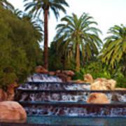 Mirage Waterfall Poster