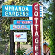 Miranda Gardens Poster