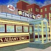 Miss Albany Diner Poster