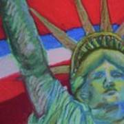 Miss Liberty Poster