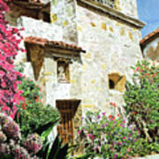 Mission Carmel Bell Tower Poster