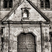 Mission Concepcion - Bw Toned Border Poster