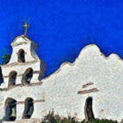Mission San Diego De Alcala Poster by Christine Till