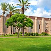 Mission San Gabriel Arcangel, San Gabriel, California Poster