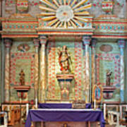 Mission San Miguel Arcangel Altar, San Miguel, California Poster