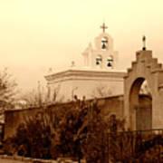 Mission San Xavier Chapel Poster
