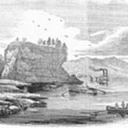 Mississippi River, 1854 Poster