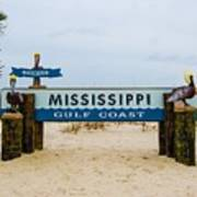 Mississippi Welcome Poster