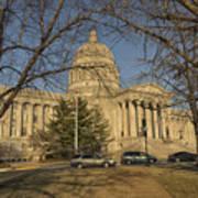 Missouri Capital Building Jefferson City Dsc00653 Poster