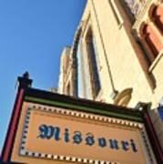 Missouri Theater Poster