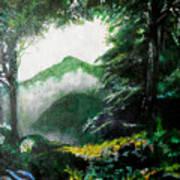 Mist on the Mountain Poster
