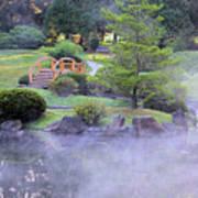 Misty Garden Poster