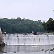 Mitchell Iowa Dam Poster