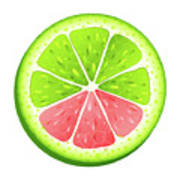 Mixed Lemon Poster