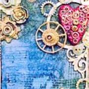Mixed Media- Steampunk Poster