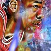 Mj Painted Poster