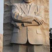 Mlk Memorial In Washington Dc Poster by Brendan Reals