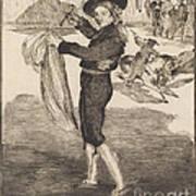 "Mlle. Victorine In The Costume Of An ""espada""(l'espada) Poster"