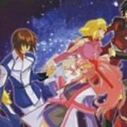 Mobile Suit Gundam Seed Destiny Poster