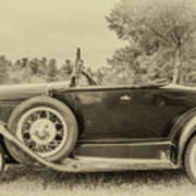 Model A Ford Roadster Poster