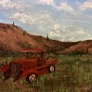 Model A Ghost Town Truck  Poster