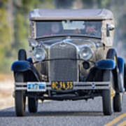 Model A Touring Club Poster
