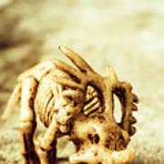 Model Styracosaurus Skeleton Poster