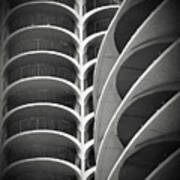 Modern Architecture Chicago Poster