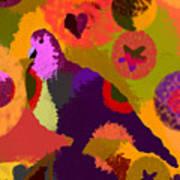 Modern Art Dove Poster