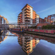 Modern Canal Living Poster