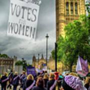 Modern Day Suffrage Poster