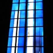 Modern Johannes Schreiter Window Mainz 2 Poster