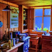 Modern Kitchen Iceland Poster