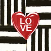 Modern Love- Art by Linda Woods Poster