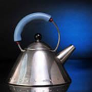 Modern Teapot. Poster
