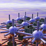 Modular City Poster