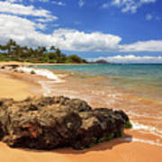 Mokapu Beach Maui Poster