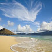 Mokulua Island Beach Poster