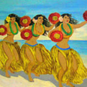 Moloka'i Hula Poster