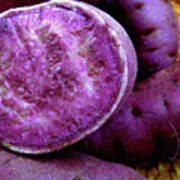 Moloka'i Purple Sweet Potatoes Poster