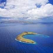 Molokini Aerial Poster