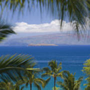 Molokini And Kahoolawe In Distance Poster