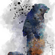 Mom And Baby Bear Poster